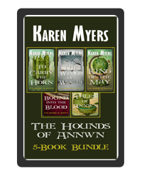 Hounds of Annwn Bundle - 1-5 - EBook Cover - 200x250